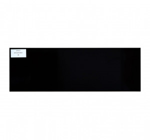 Black glossy 20x60cm