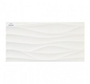 PS810 white satin structure 29,8x59,8cm