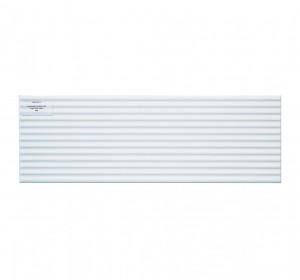Alaya white glossy line structure 20x60cm