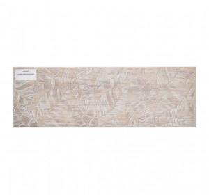 Livi beige inserto leaves 20x60cm