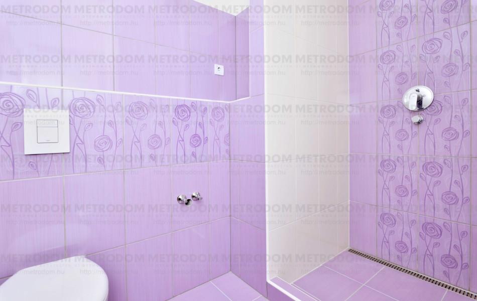 rosaria violet fürdőszoba