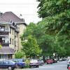 A József Attila utca kertvárosi hangulatot idéz