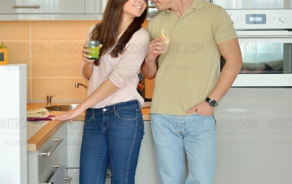 Minden lakásunkban adott a lehetőség egy kellemes, jól használható konyha kialakításához