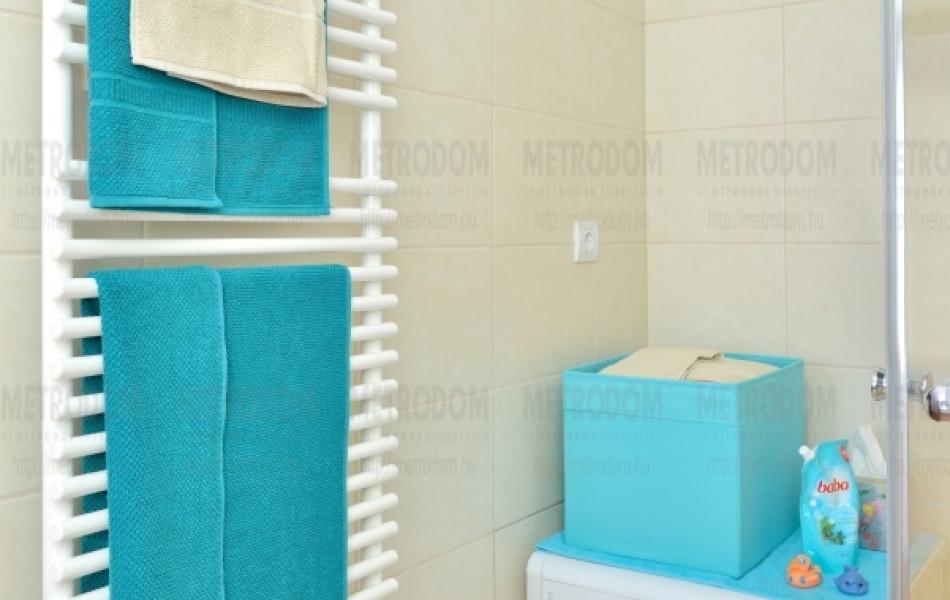 Minden fürdőszobába elegáns és praktikus törülközőszárítós radiátort teszünk
