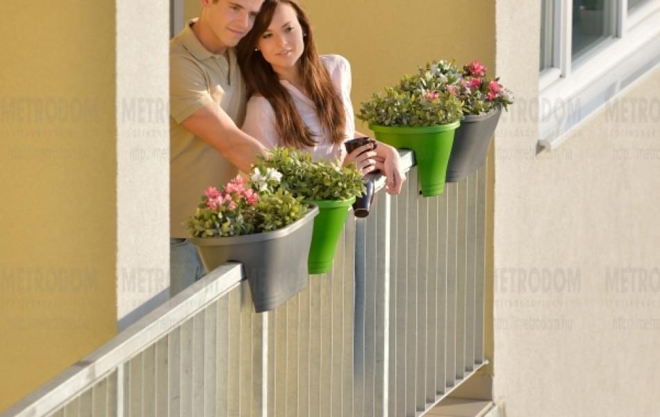 A City Home-lakások több, mint 90%-ának van erkélye