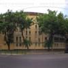 A közeli Kassák Lajos utca panoráma fotója, itt egy remek játszótér is.