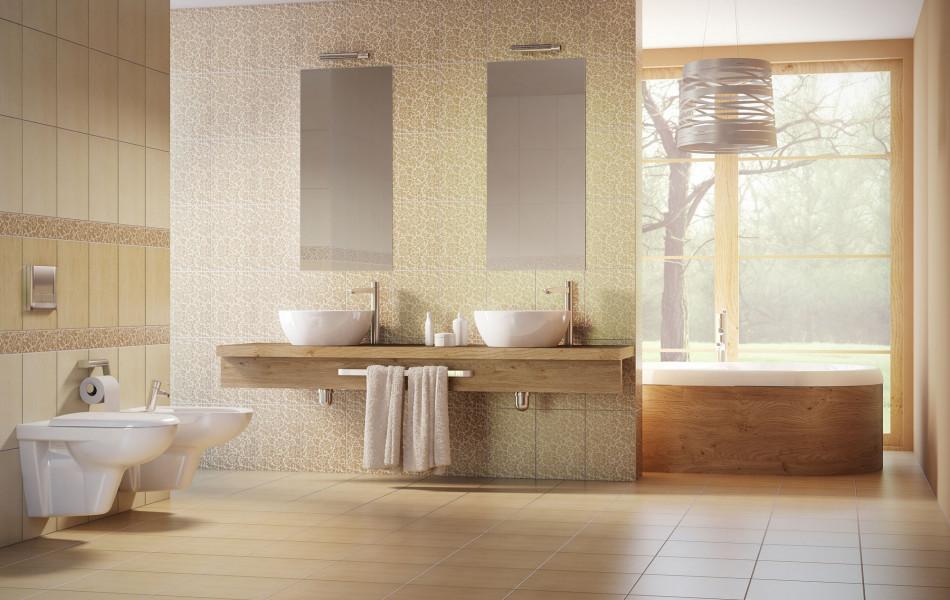 camea bézs fürdőszoba