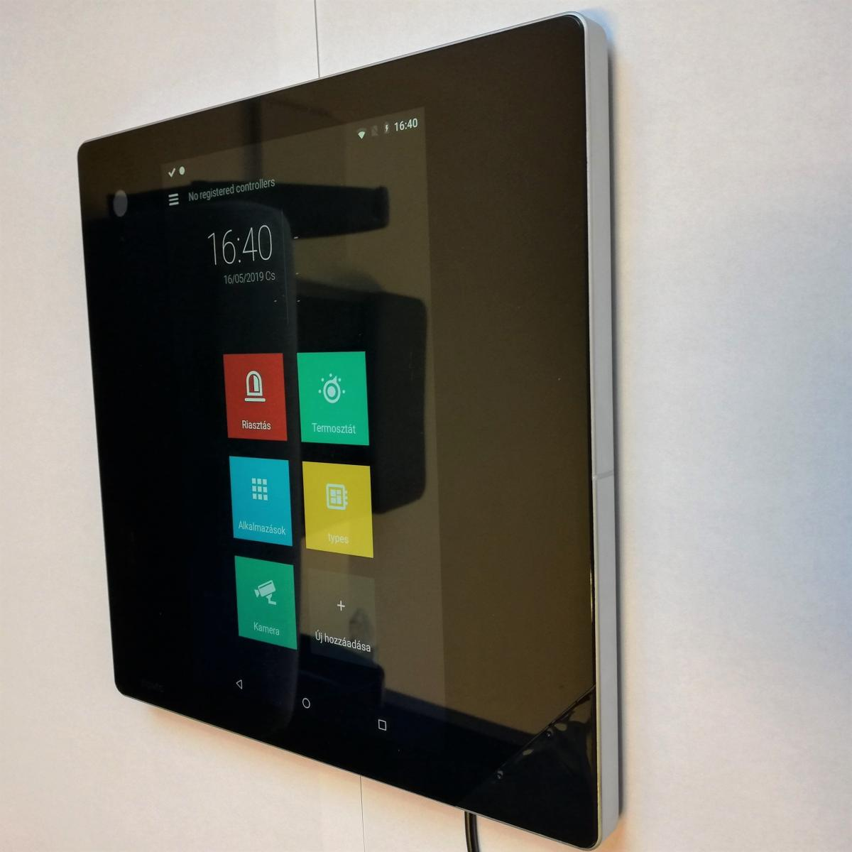 The new smart home control panel has arrived